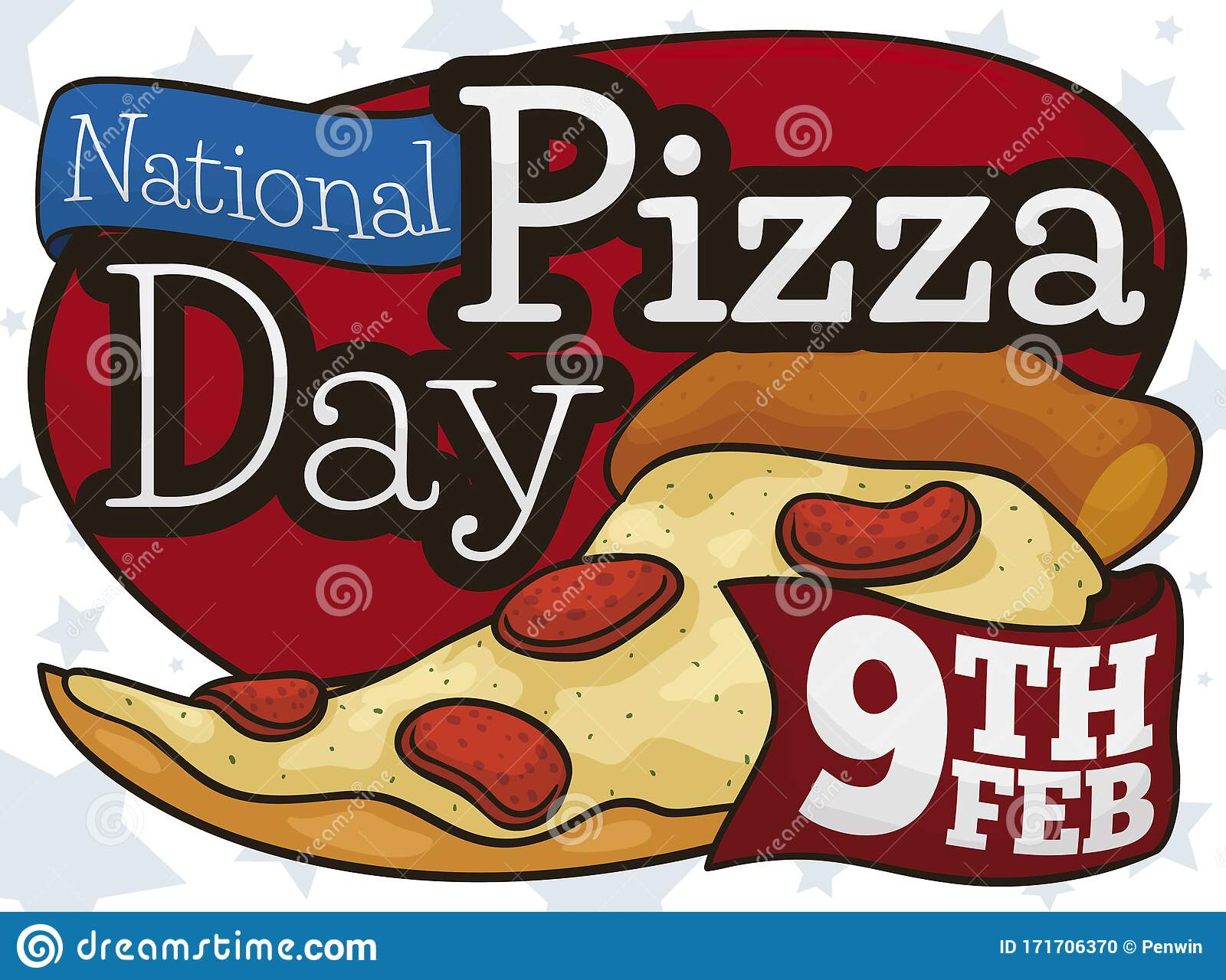 Day National Pizza Stock Illustrations – 86 Day National Pizza Stock  Illustrations, Vectors & Clipart - Dreamstime