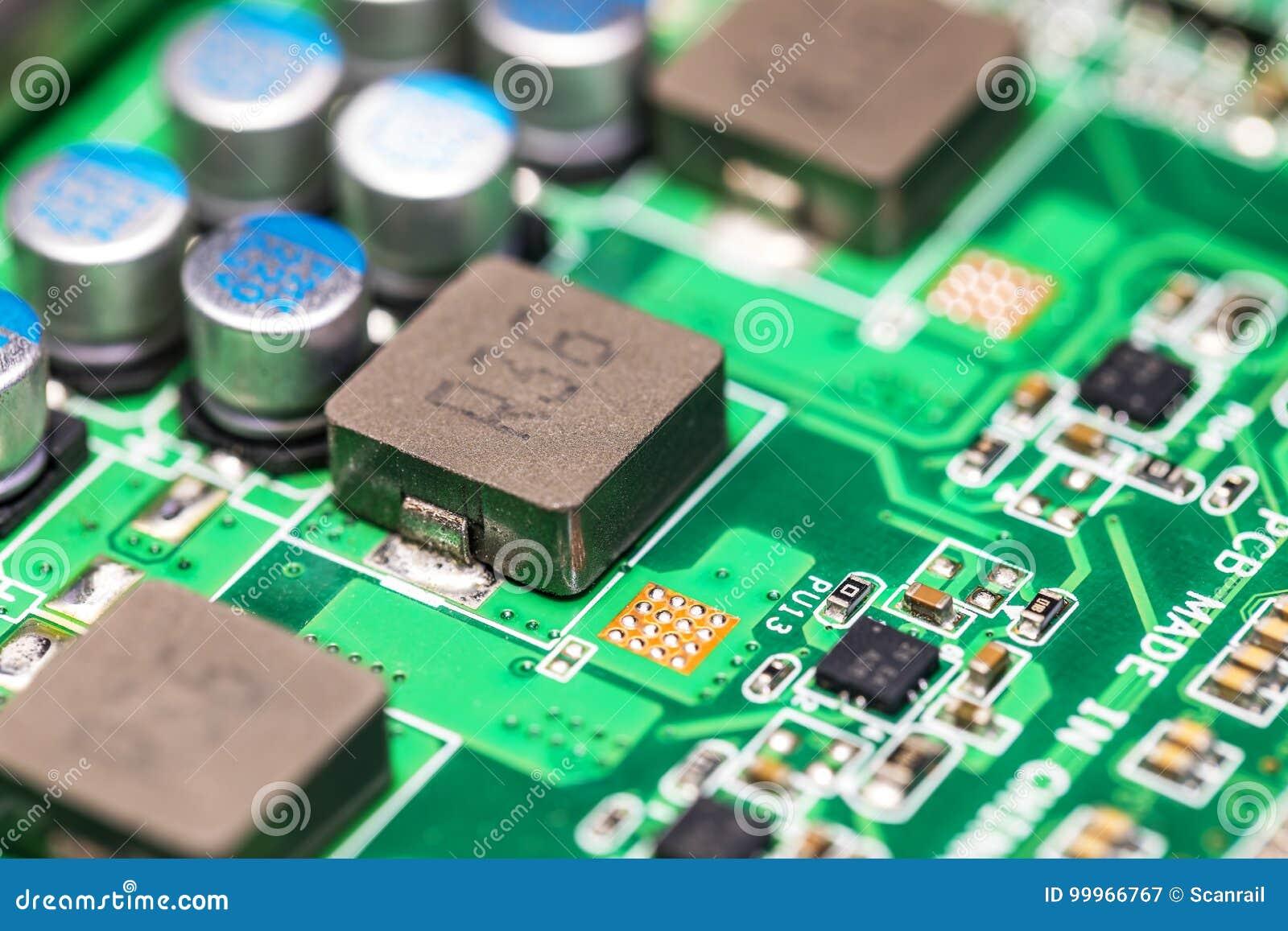 PWB da placa de circuito eletrônico