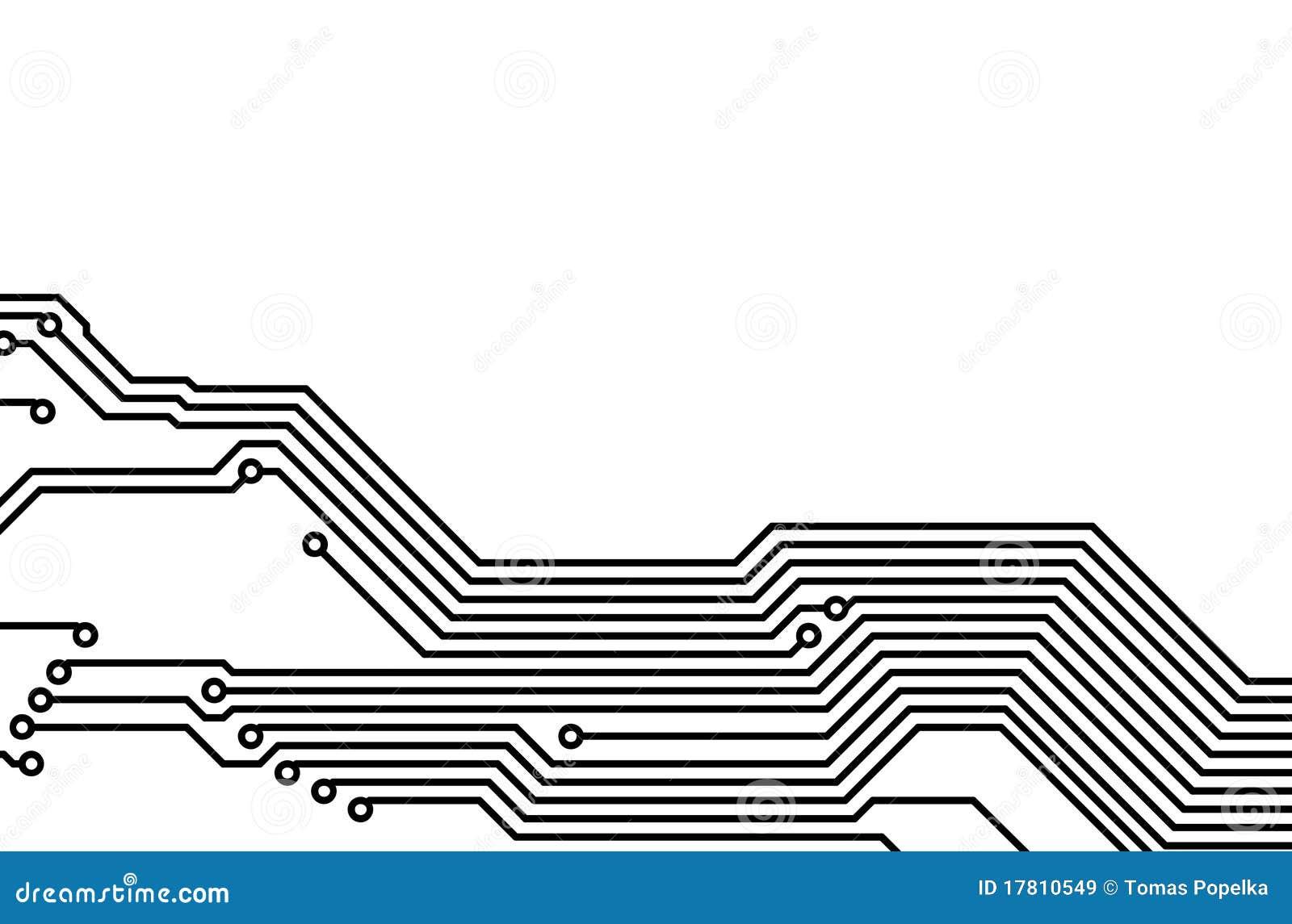 Pwb Placa De Circuito Impresso 6 Ilustracao Stock Ilustracao