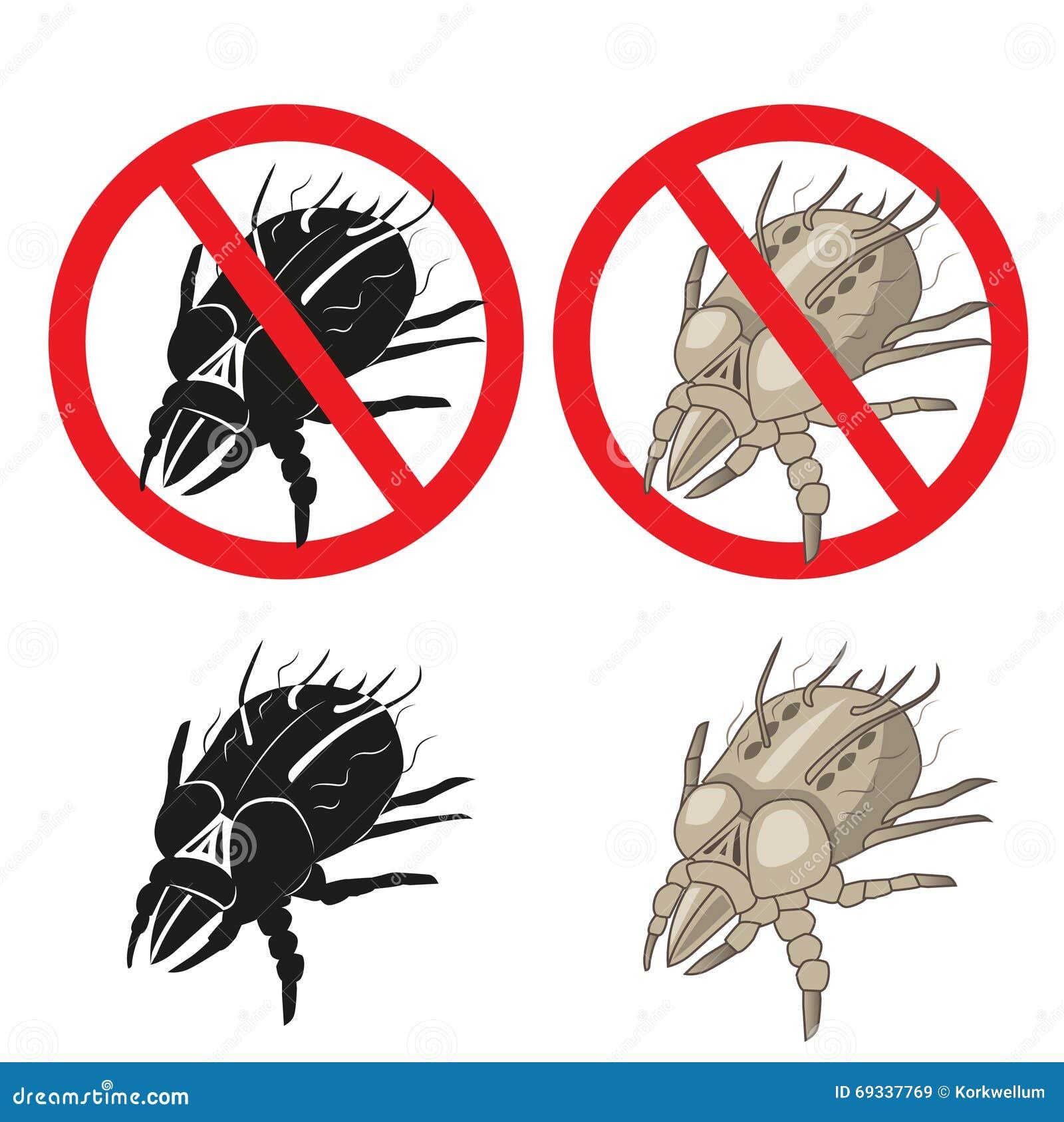 Pył lądzieniec darmozjada znak ostrzegawczy Zamyka up domowa lądzieniec