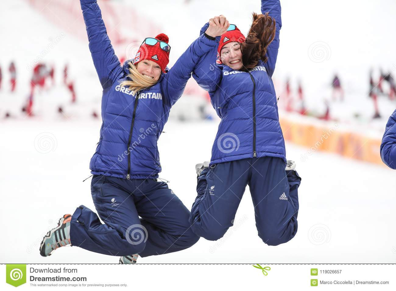 PyeongChang 2018 March 18th . Women`s Slalom Golden medal - FIT