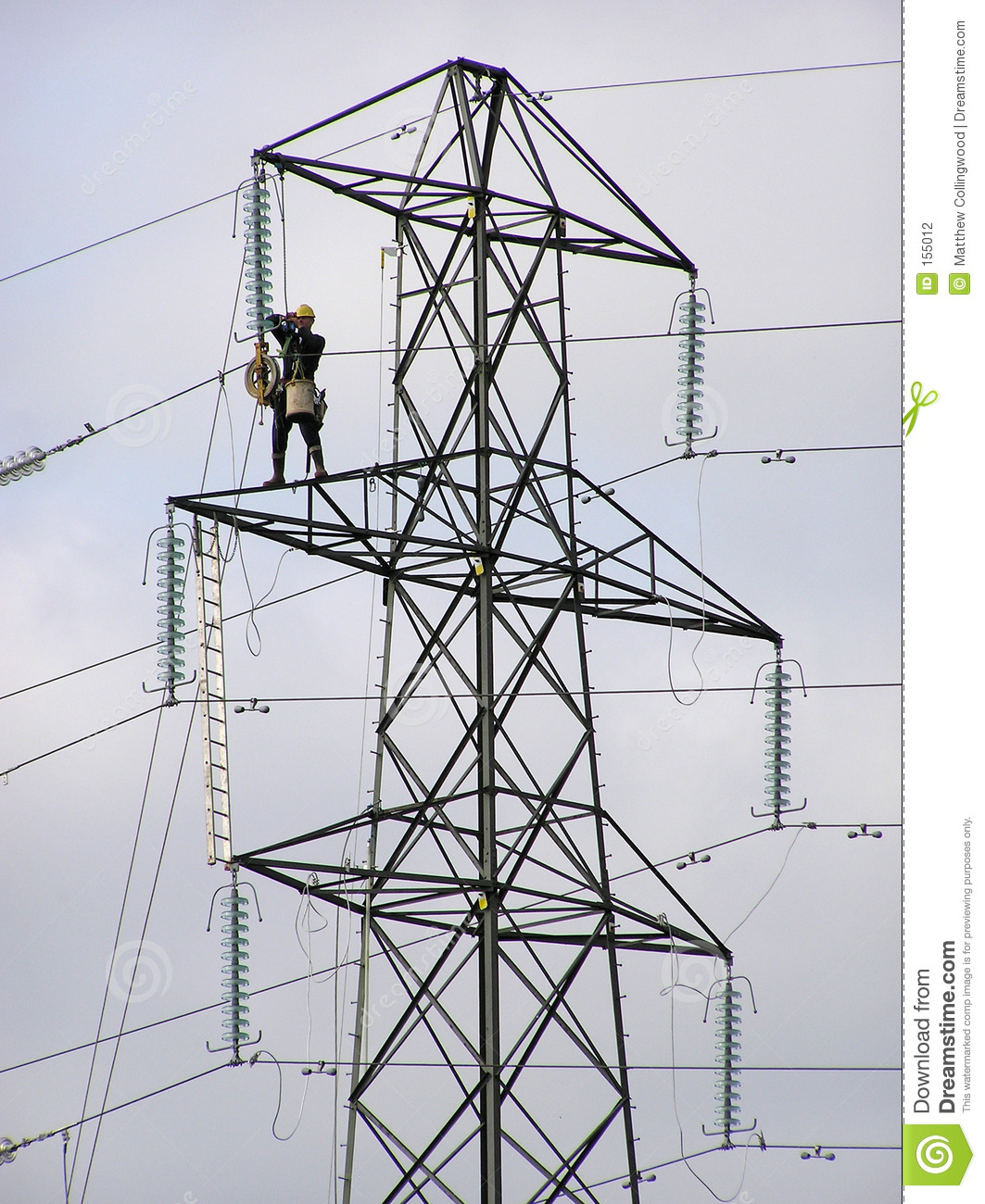 Pylon worker 2