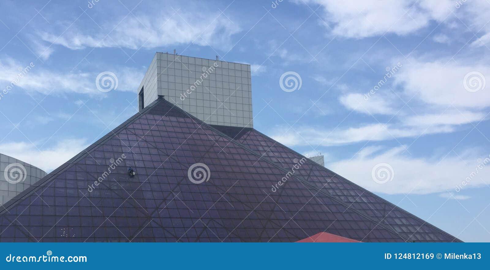 The Pyramid Of Cleveland Ohio Editorial Stock Image - Image