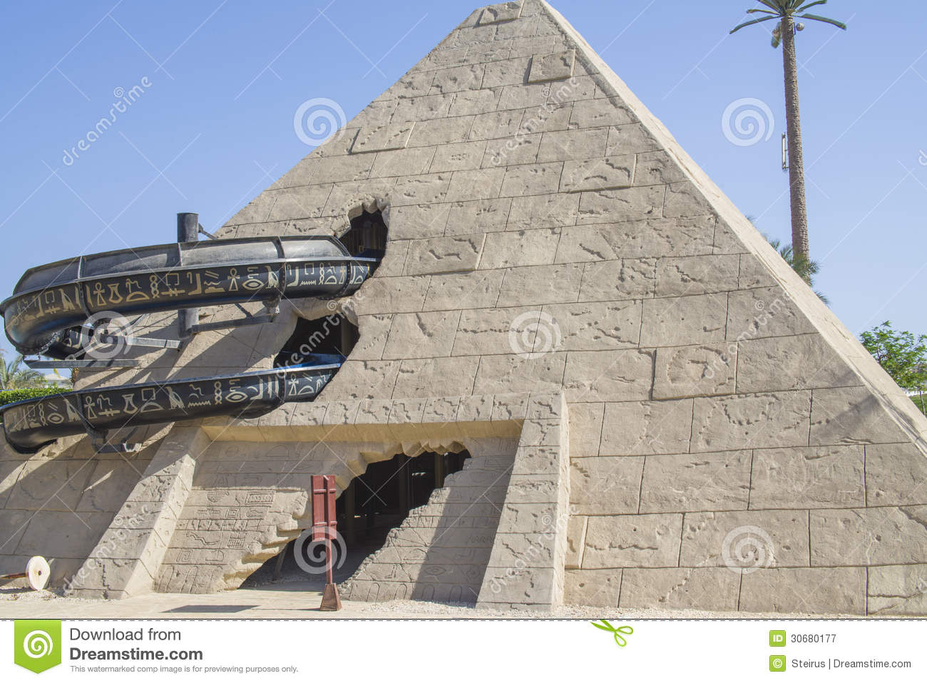 The Pyramid Royalty Free Stock Photography Image 30680177
