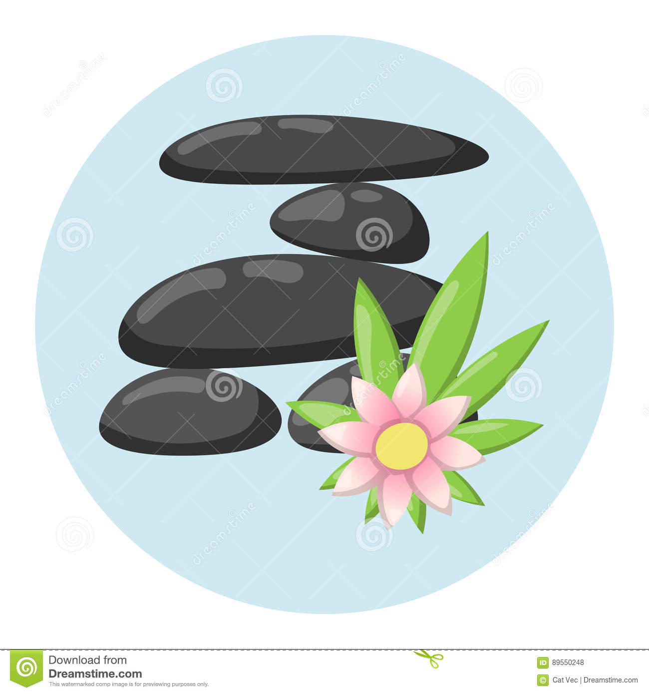 Pyramid from sea pebble relax heap stones isolated and healthy wellness black massage meditation natural tool spa