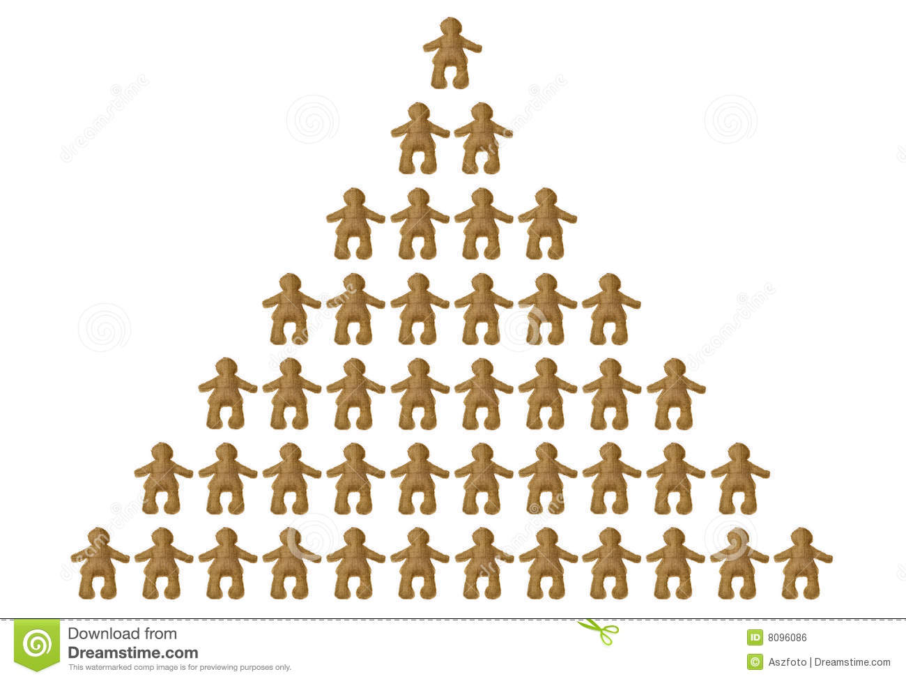 Pyramid Of Social Classes Royalty Free Stock Image - Image: 8096086