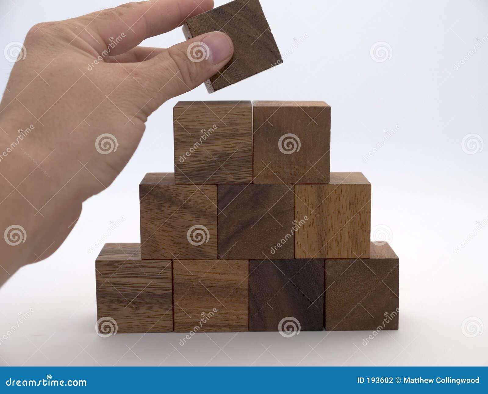 Pyramide Blocky