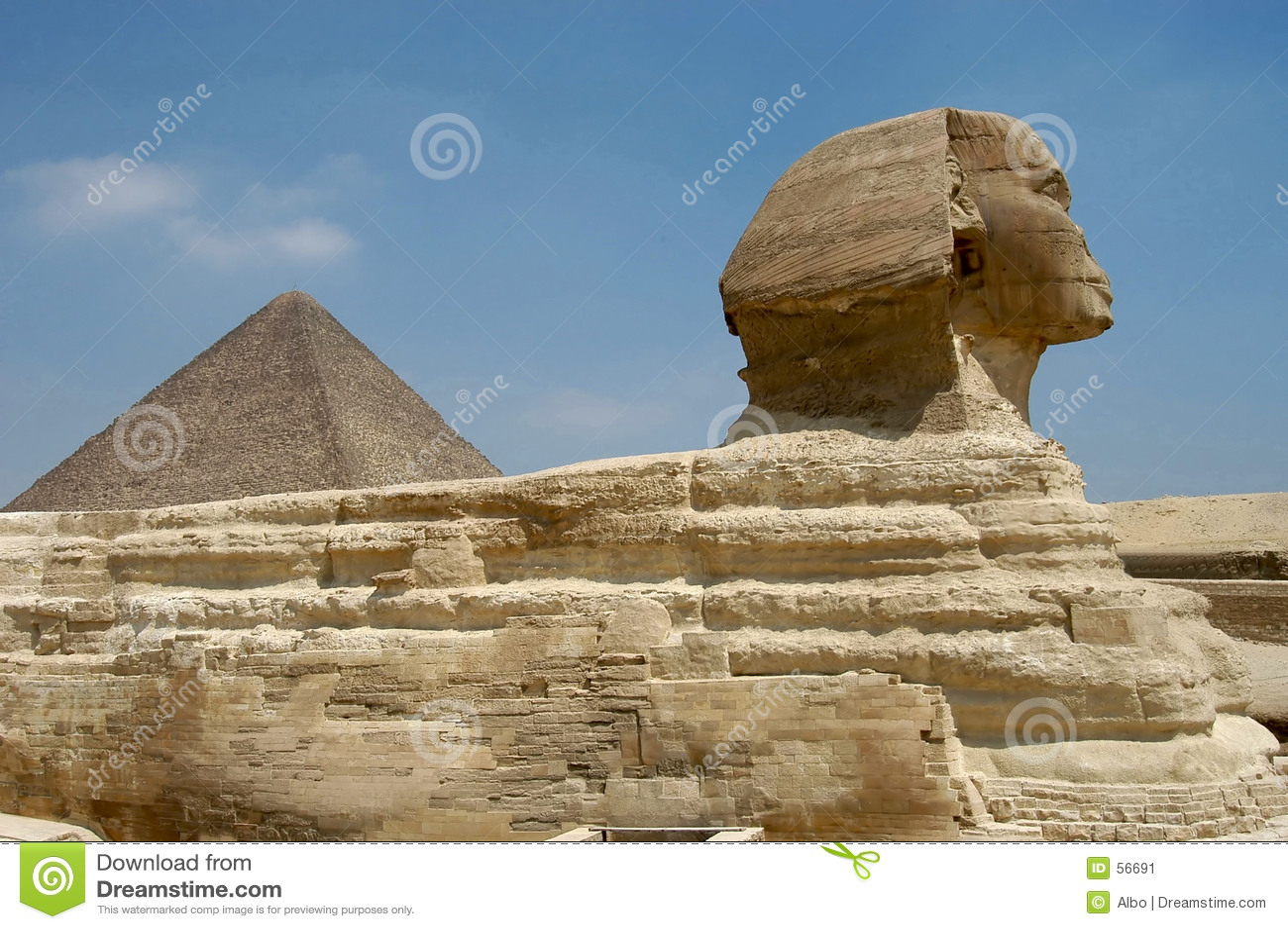 Pyramide de Micerino et le Sphynx