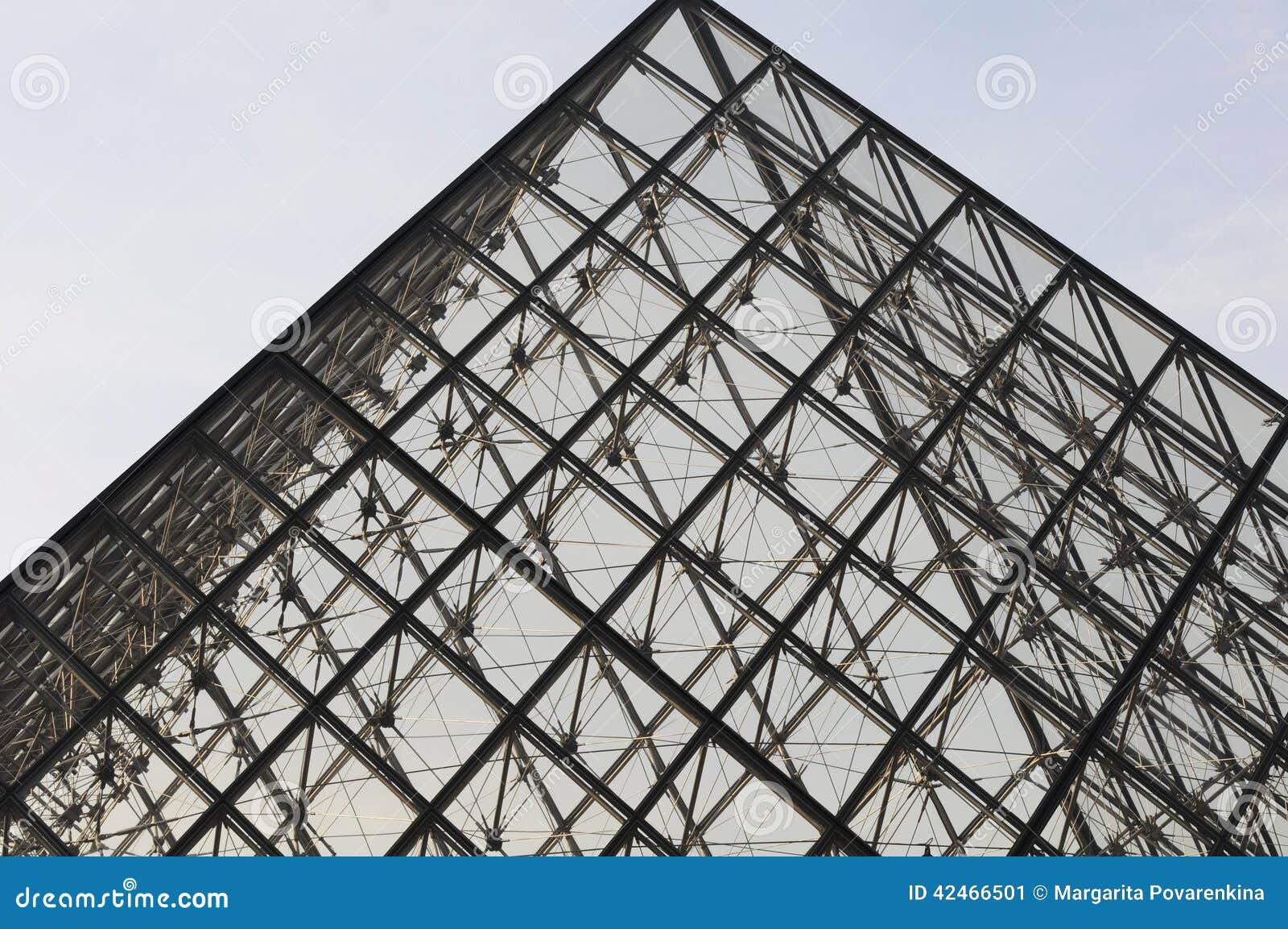 Pyramide des Louvre, Paris, Franca