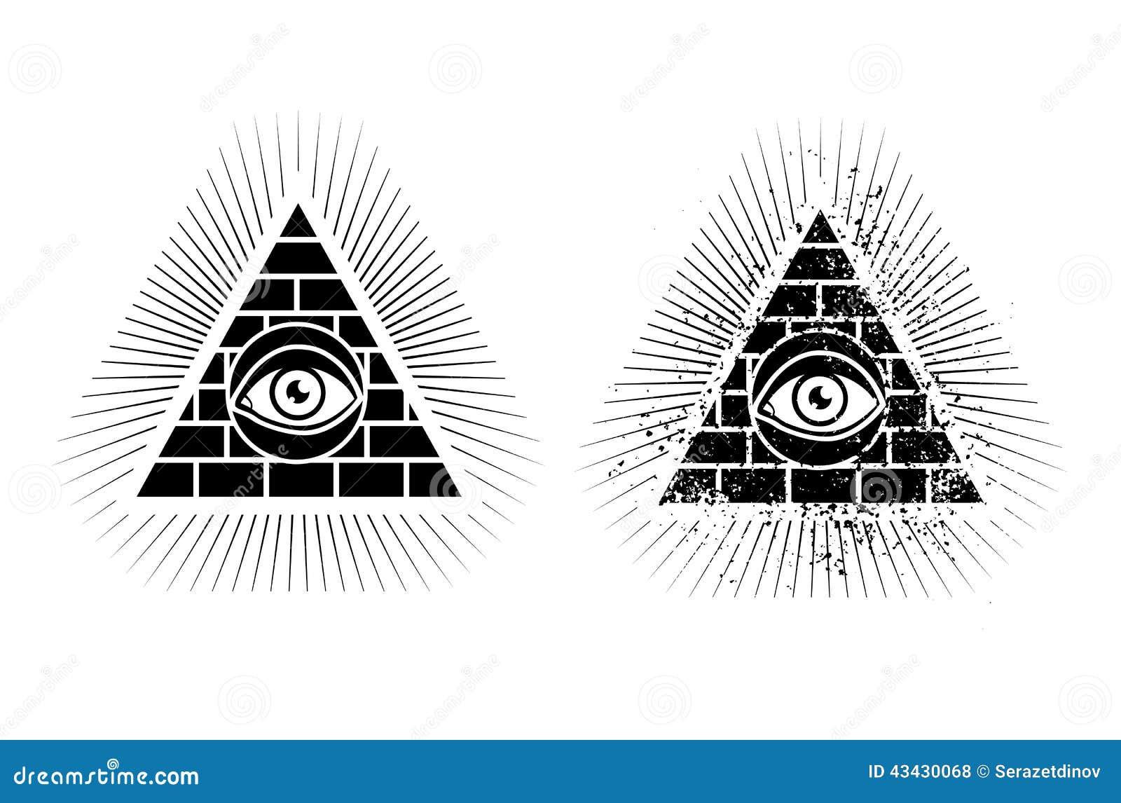 Pyramide et oeil