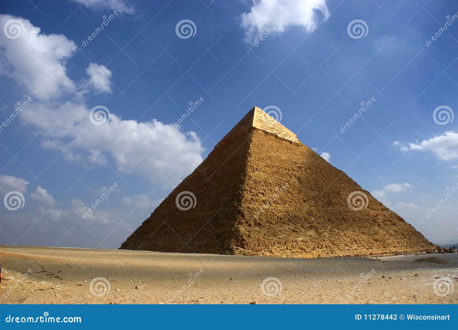 Pyramide grande de Cheops Giza Egypte antique, course