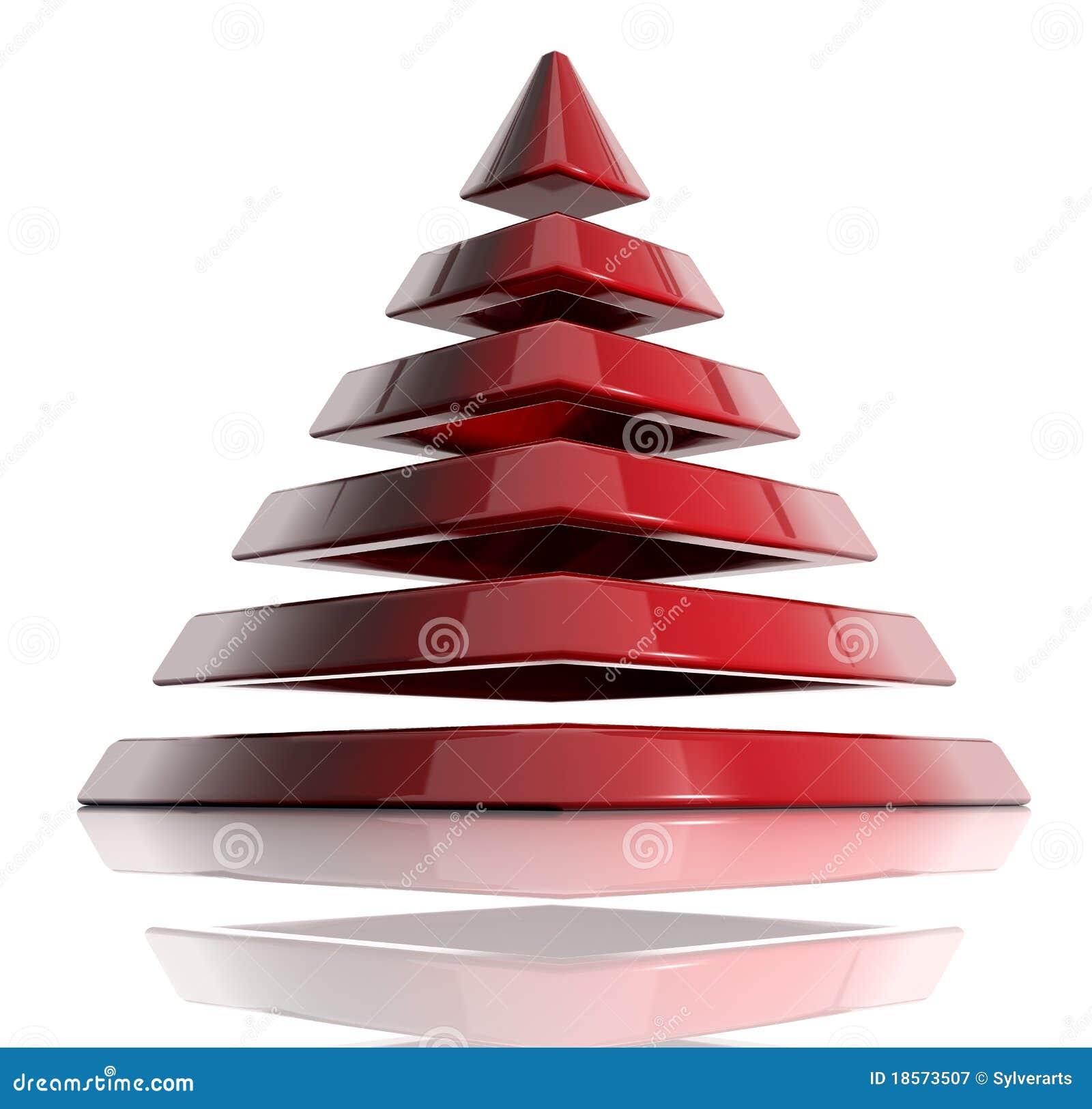 Pyramide posée
