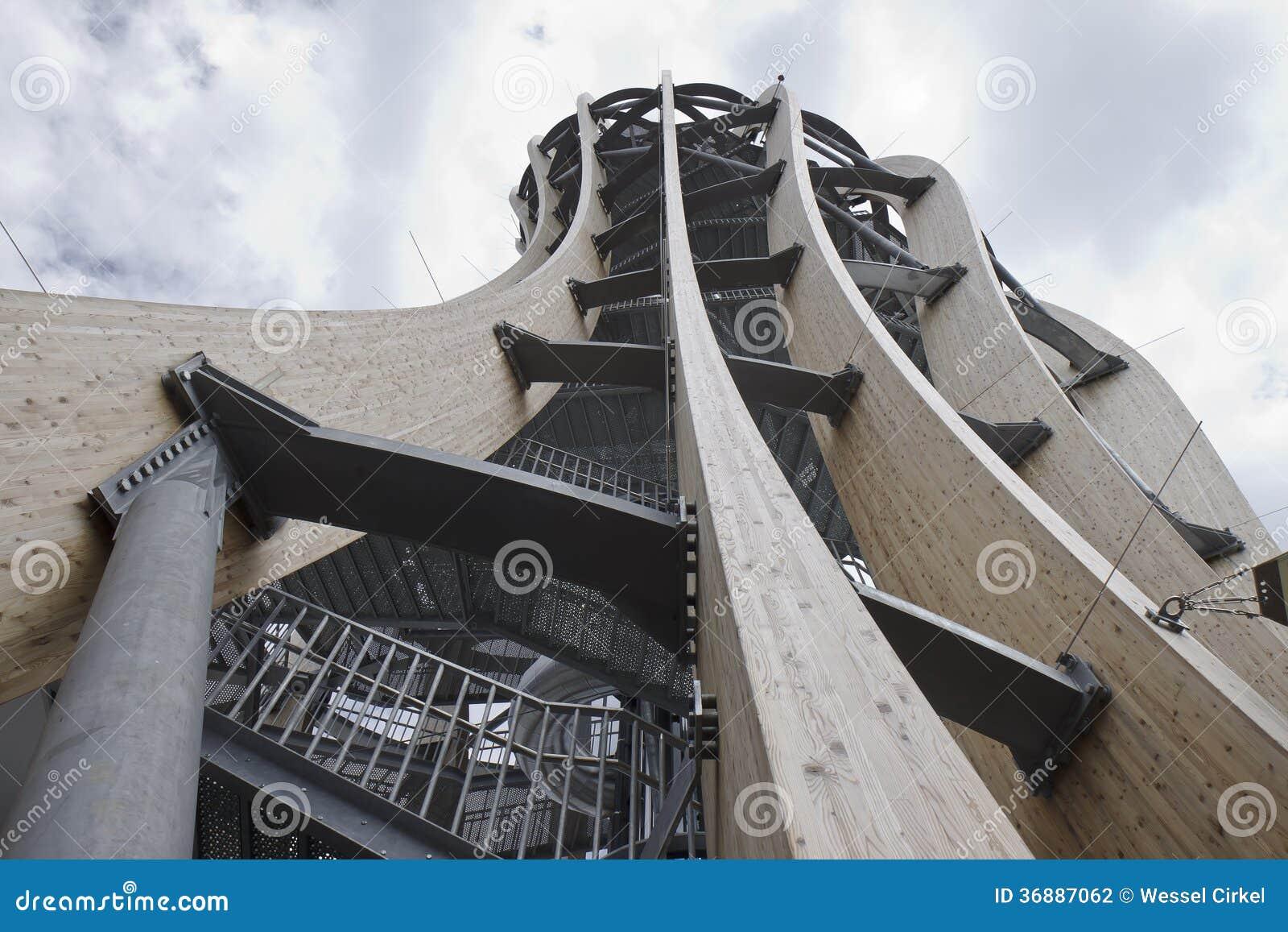 Pyramidekogel Tower Klagenfurt Austria Stock Photography