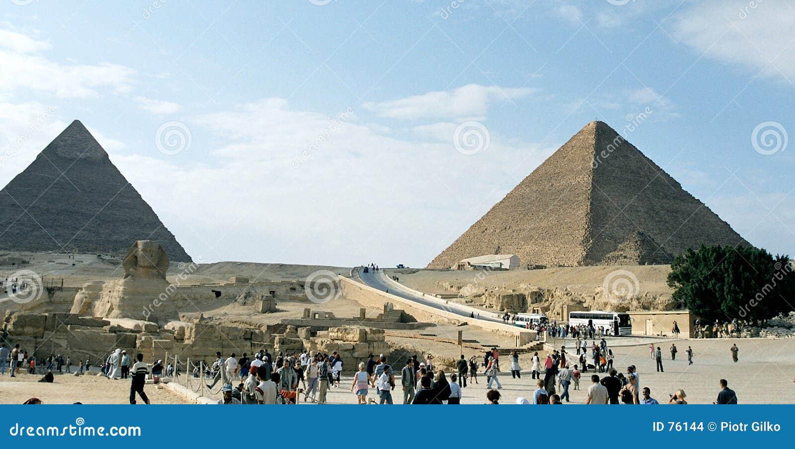 Pyramiden von Giza.