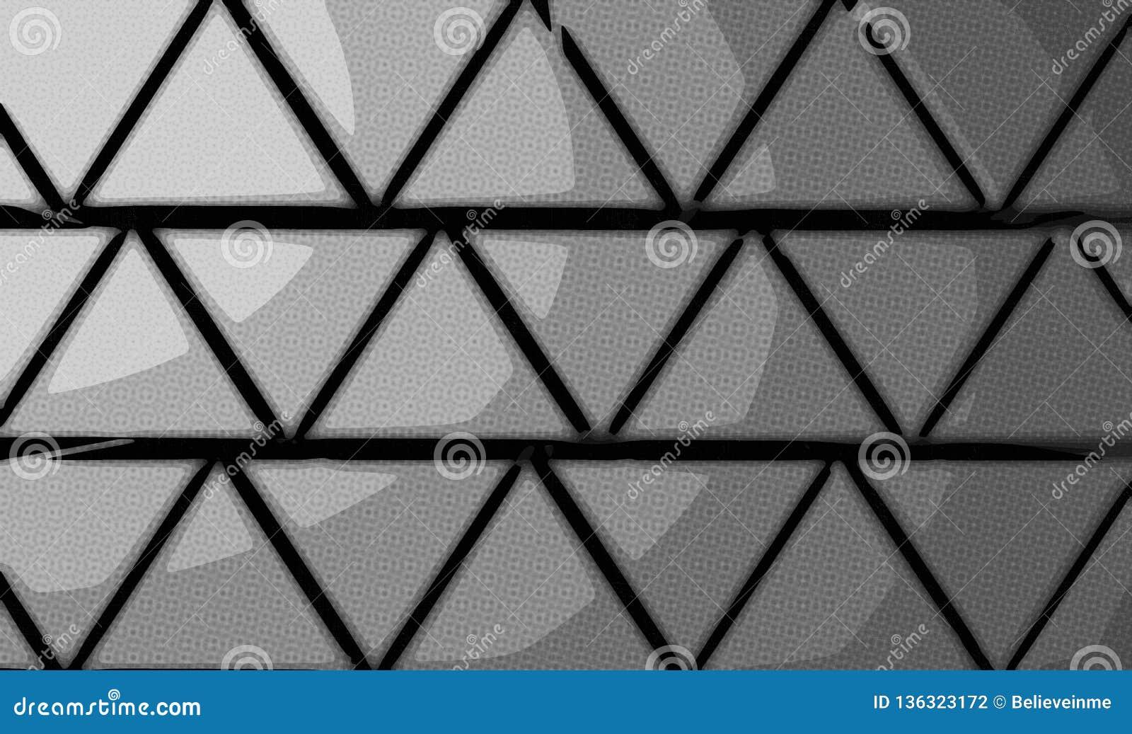 Pyramiderna gör sammandrag bakgrund från trianglar av grå färg