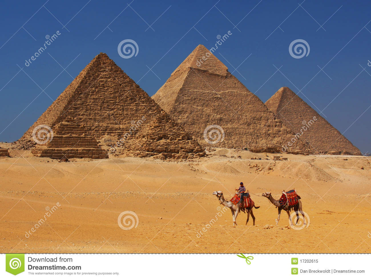 The Pyramids in Egypt