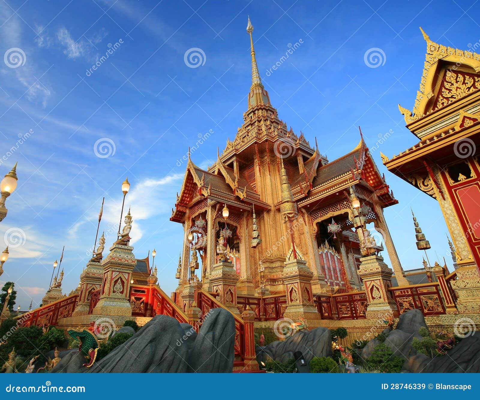 Pyre fúnebre real em Sanam Luang
