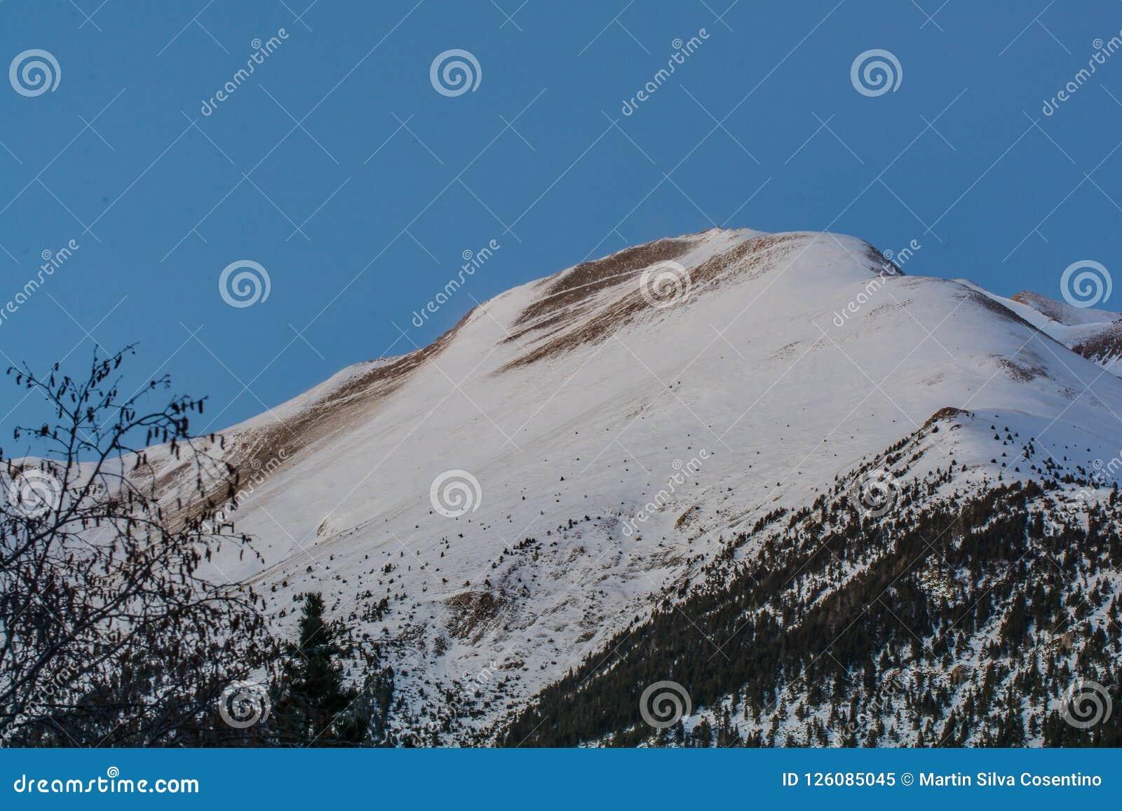 Pyrenees in Andorra.