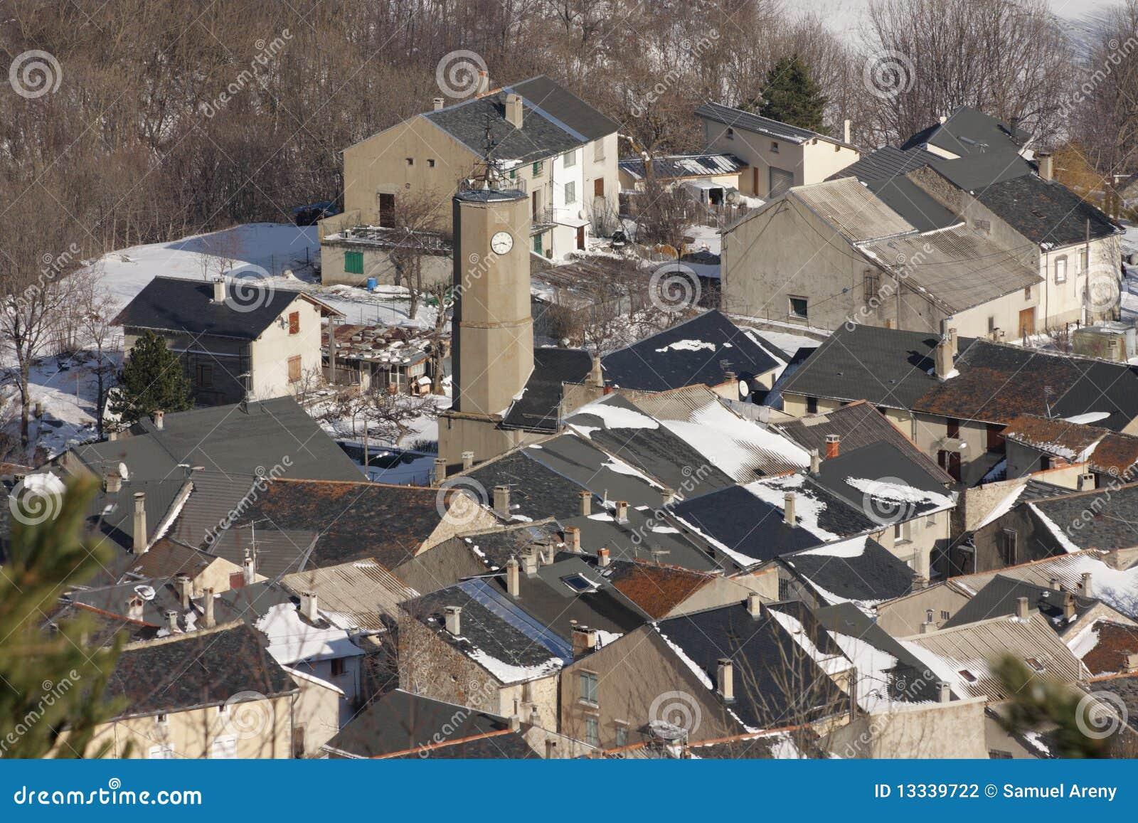 Pyrenees wioska