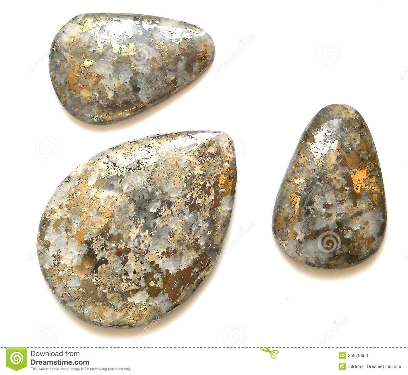 Is quartz considered a natural stone - Pyrite In Quartz Cabochons