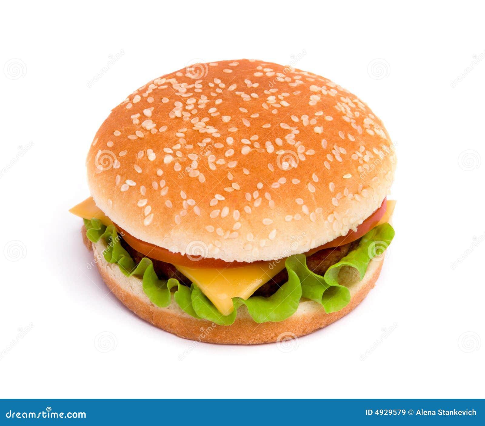 Pyszny soczystego cheeseburger
