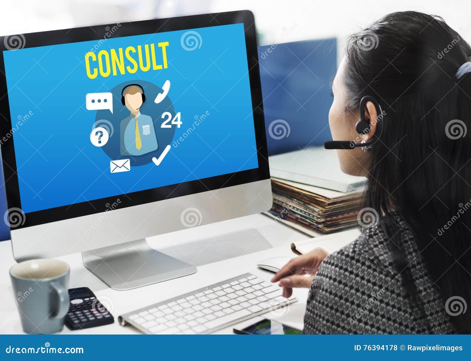 Pyta my Kupować Online konsultuje kontakt my obsługi klienta pojęcie