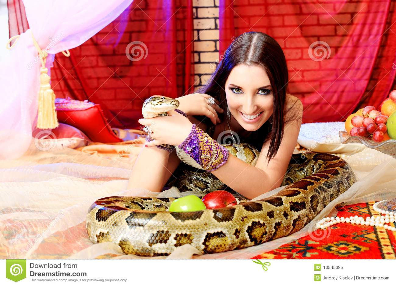 Python χαμόγελο