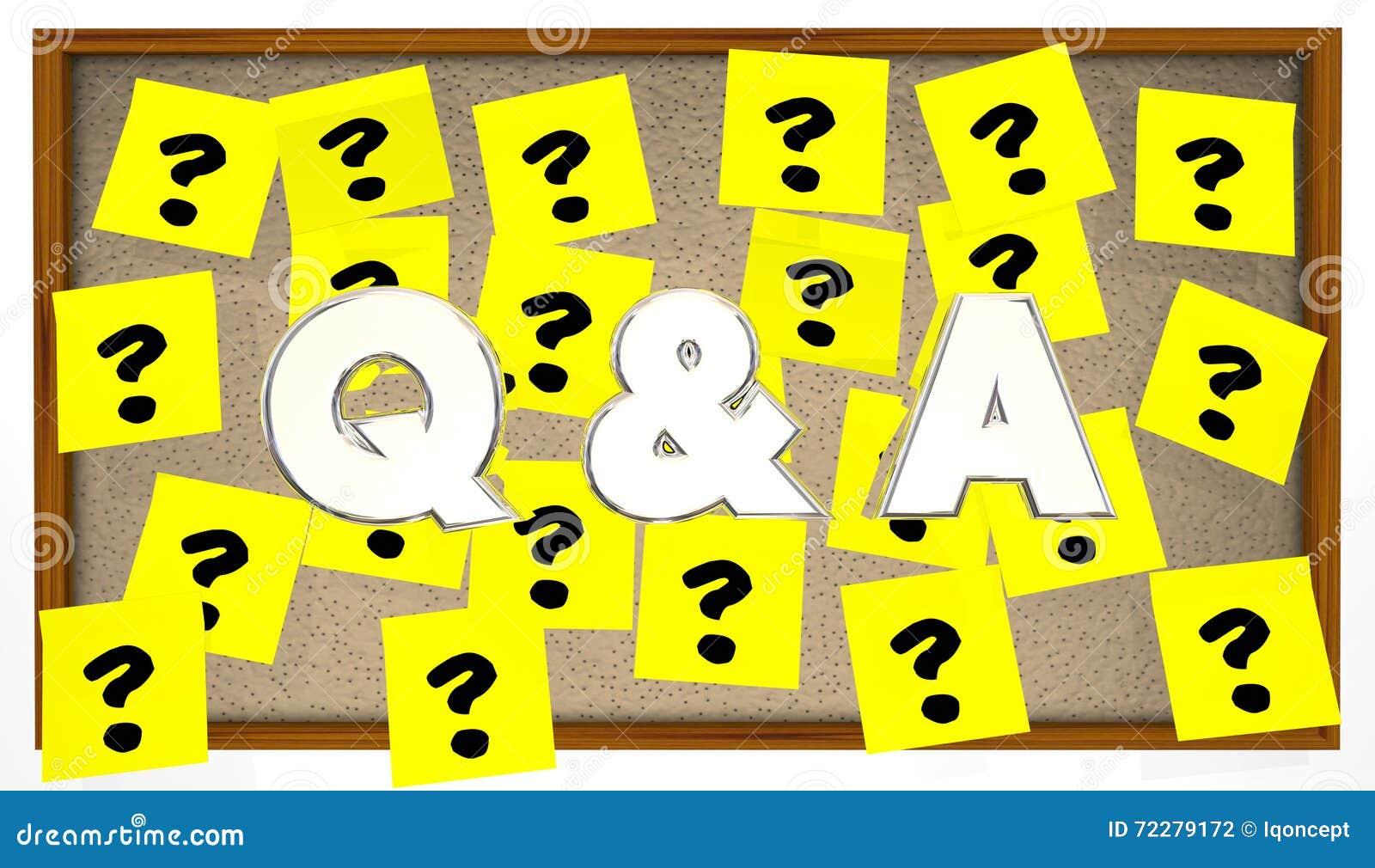 Download Q и вопросы отвечает липкой доске объявлений примечаний Иллюстрация штока - иллюстрации насчитывающей метки, слова: 72279172