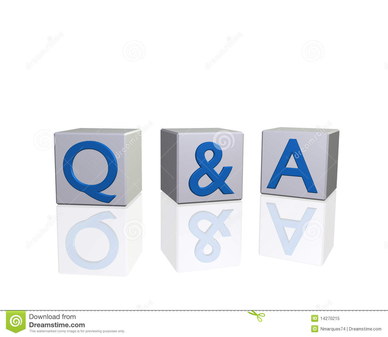 Q Amp A Royalty Free Stock Photo Image 14270215