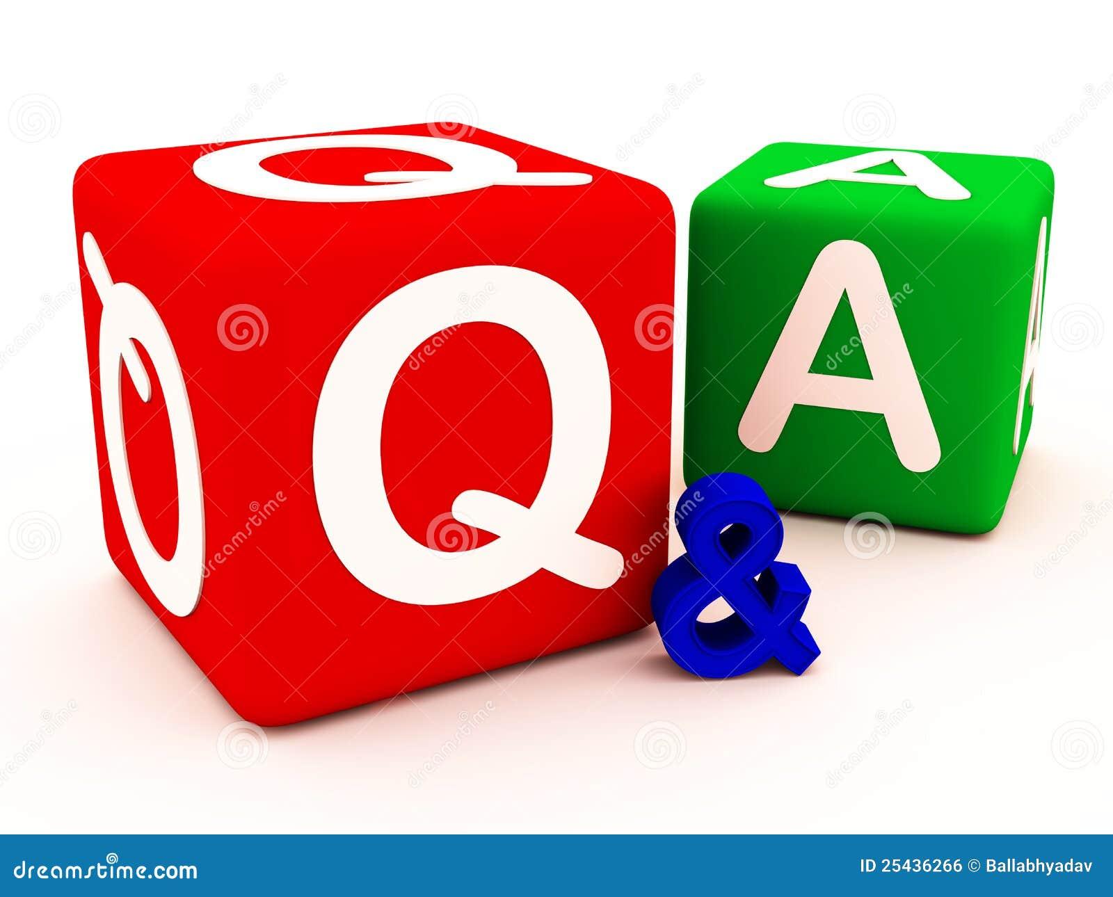 Q&A vragenantwoorden en twijfels