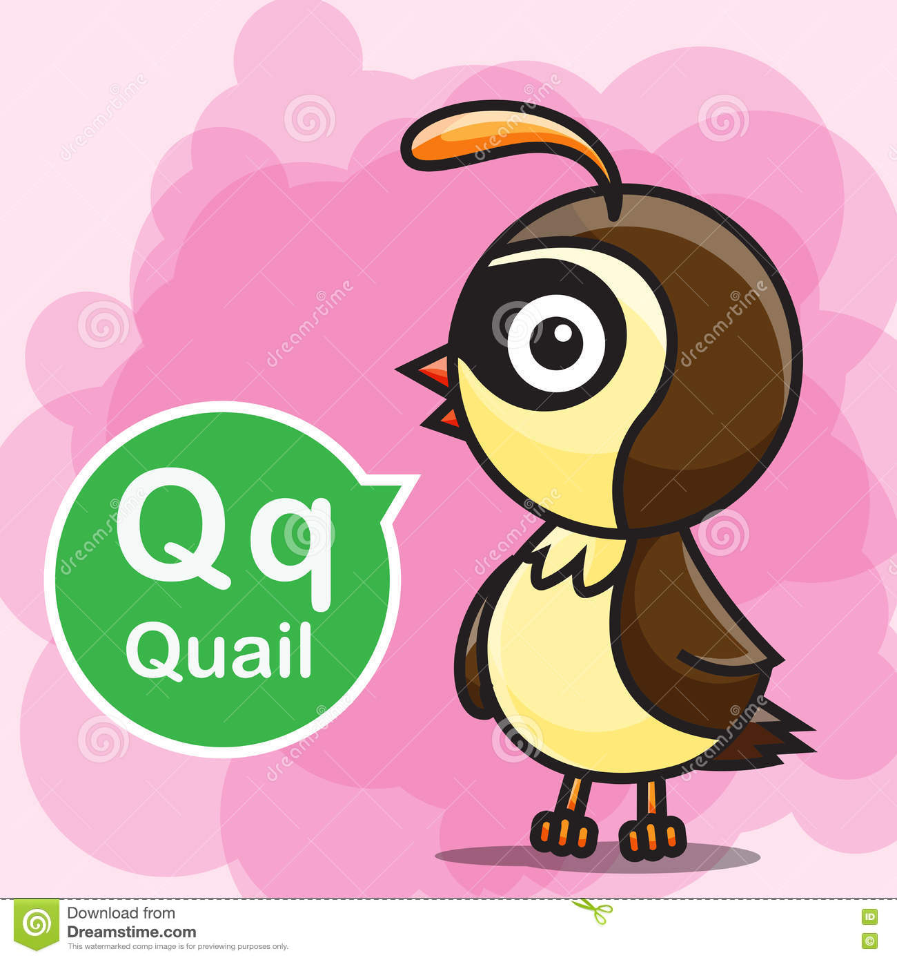 Quail Coloring Page. Interesting Letter Q Coloring Pages Eassumecom ...