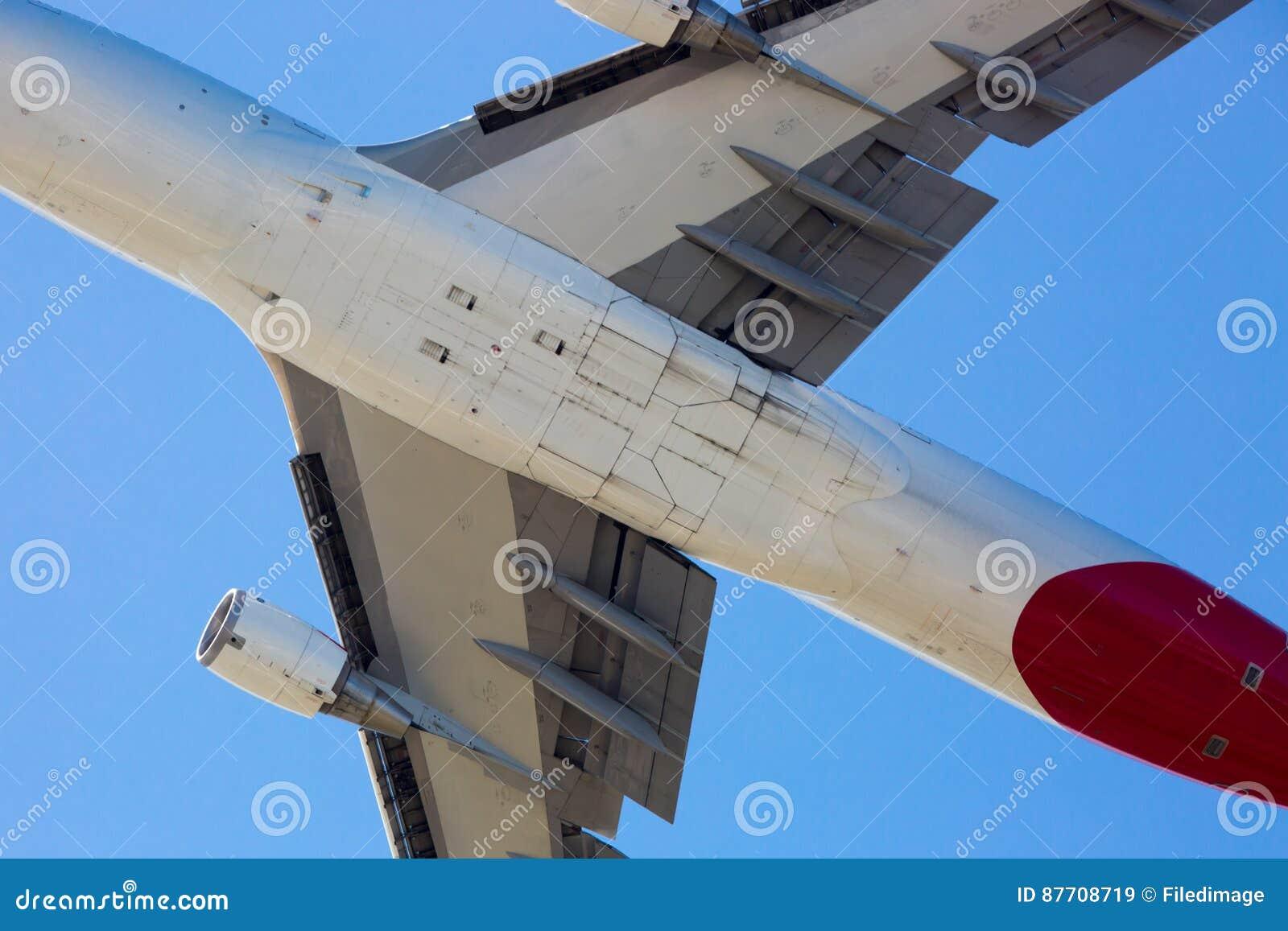 Qantas Boeing 747-400 volant
