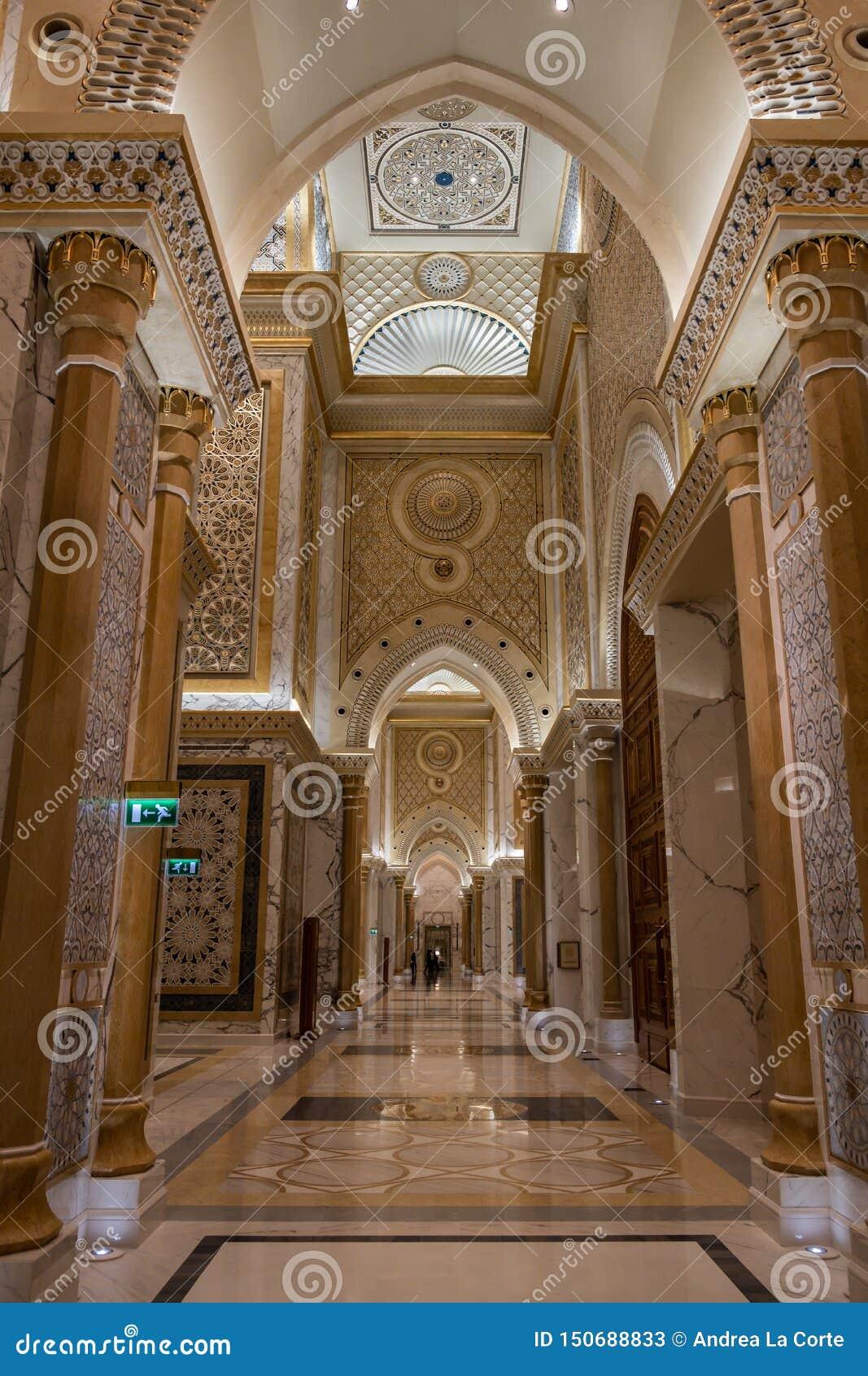 Qasr Al Watan, Palácio Presidencial dos Emirados Árabes Unidos, Abu Dhabi