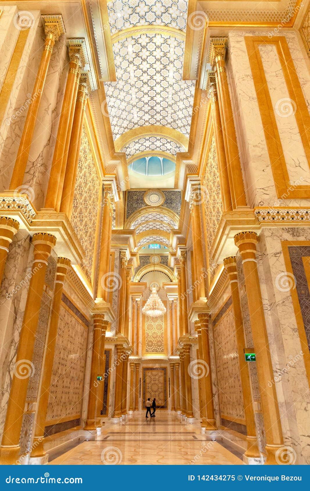 Qasr Al Watan, palacio presidencial de los UAE, Abu Dhabi
