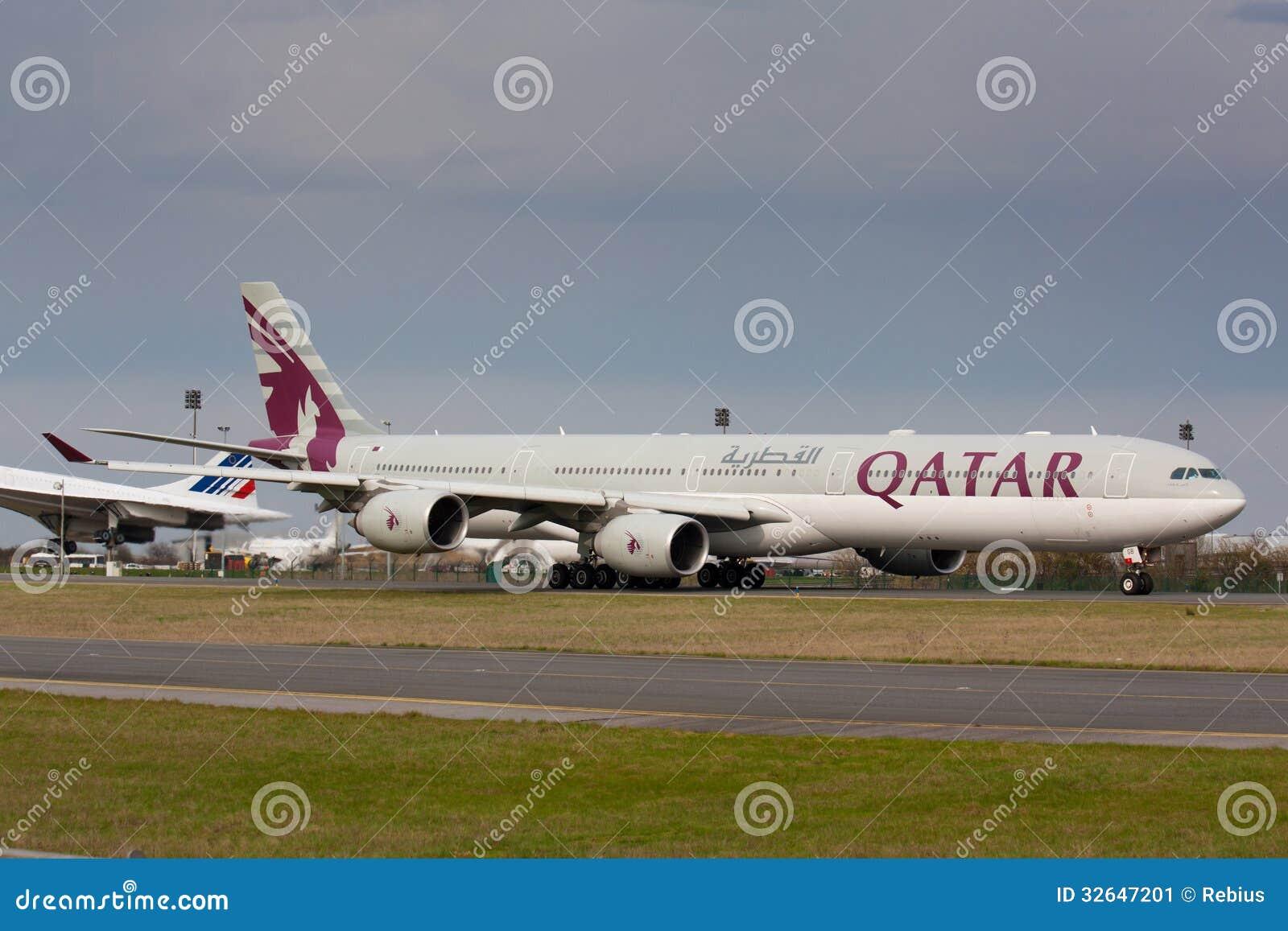 A340 Qatar
