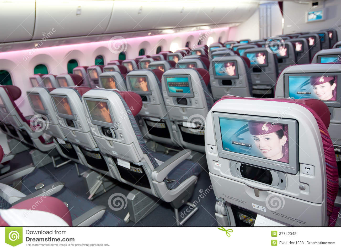 Qatar Airways Economy Class At Singapore Airshow 2014 ...