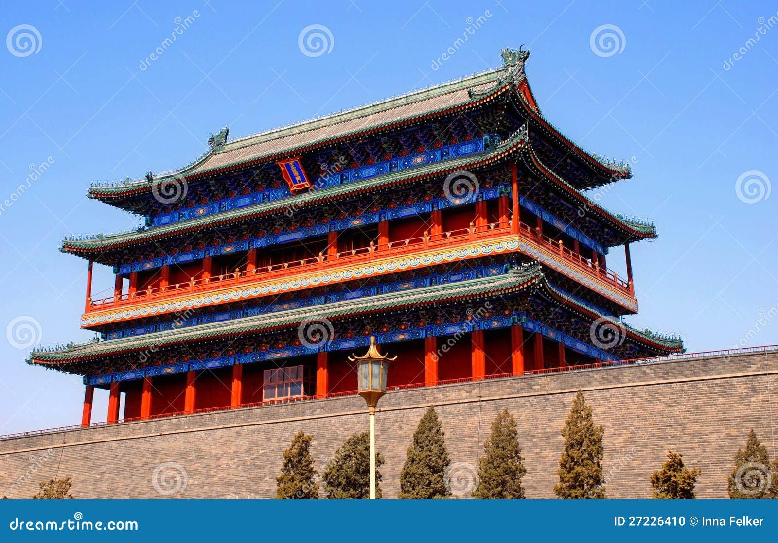 Qianmen Gate,Forbidden City,Beijing, China