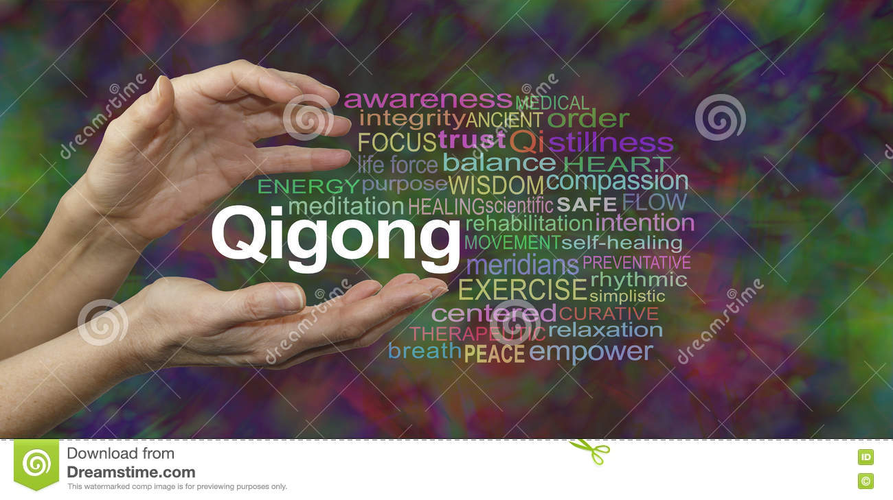 Qigong Hands Qigong Editorial...