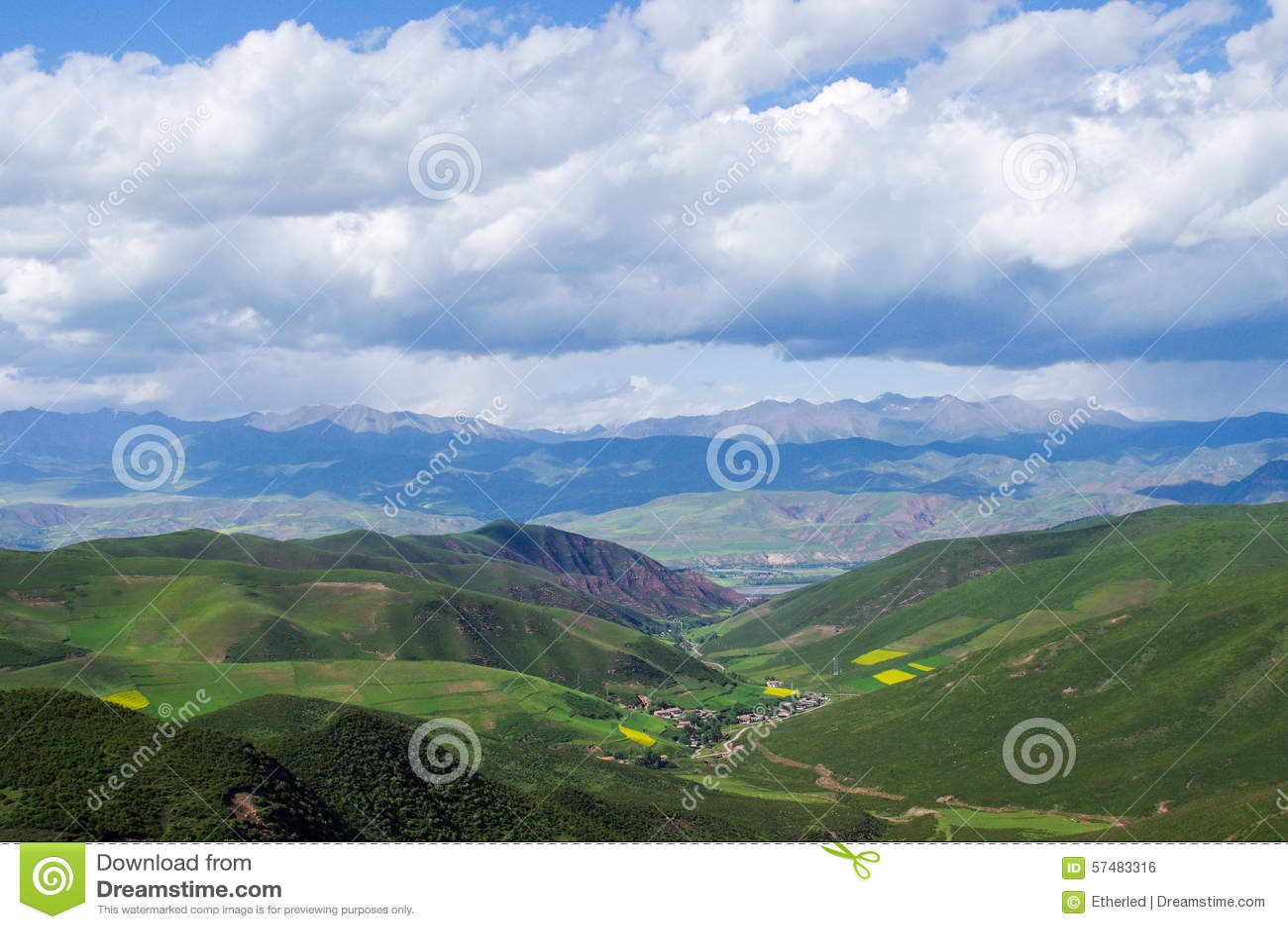 Qilian berg