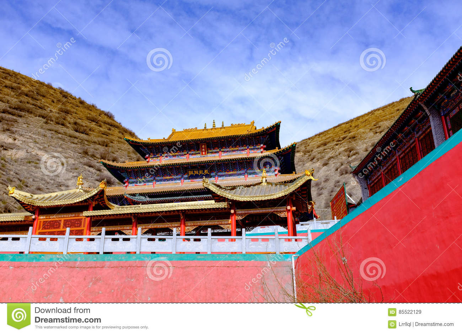 Qinghai xining: stor kunlun nio dag helgon - MaLong phoenix berg