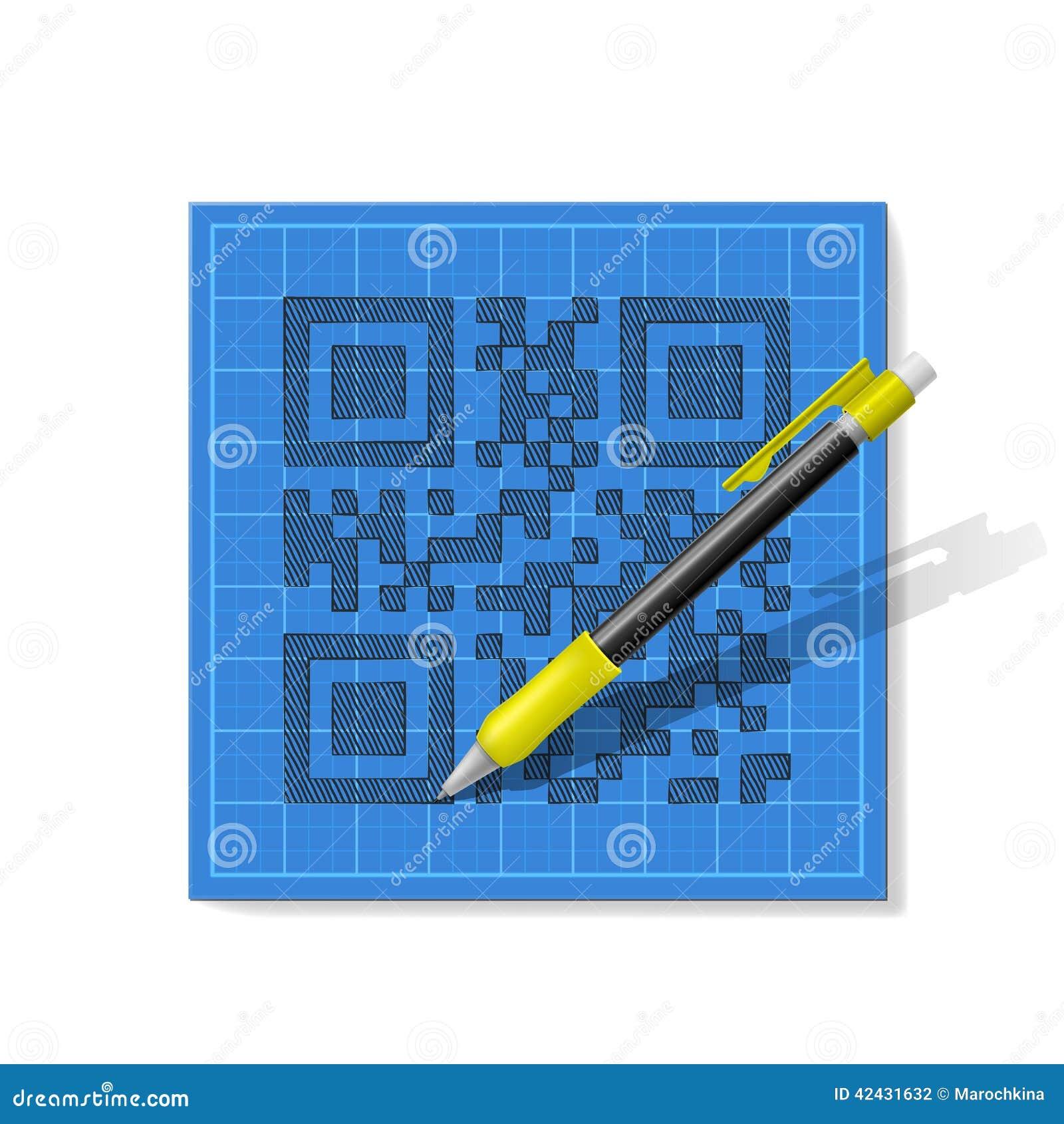 QR-código del bosquejo