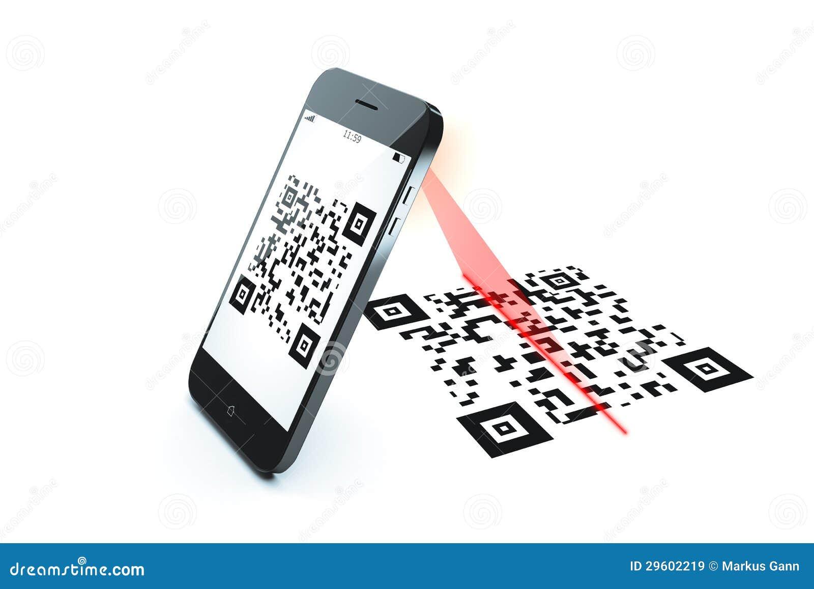 Qr kodu obraz cyfrowy
