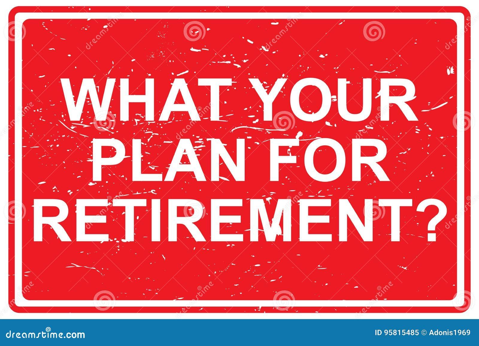 Qué su plan para el retiro