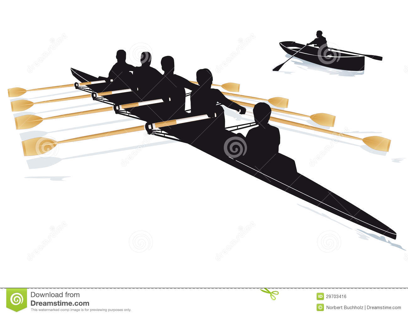 Rowing boats stock photo. Image of race, outdoor, rowing ...