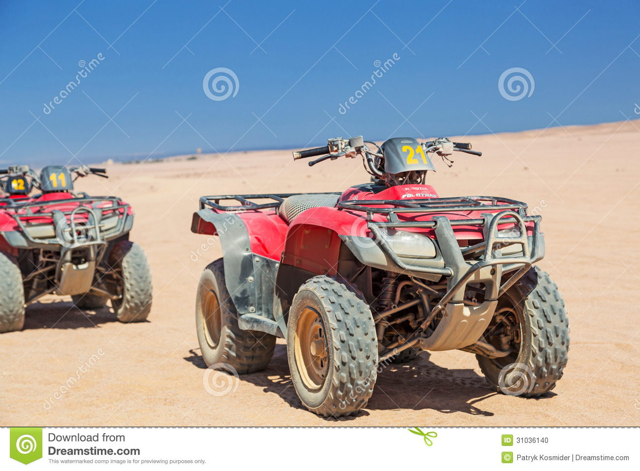 Quad trip on the desert near Hurghada