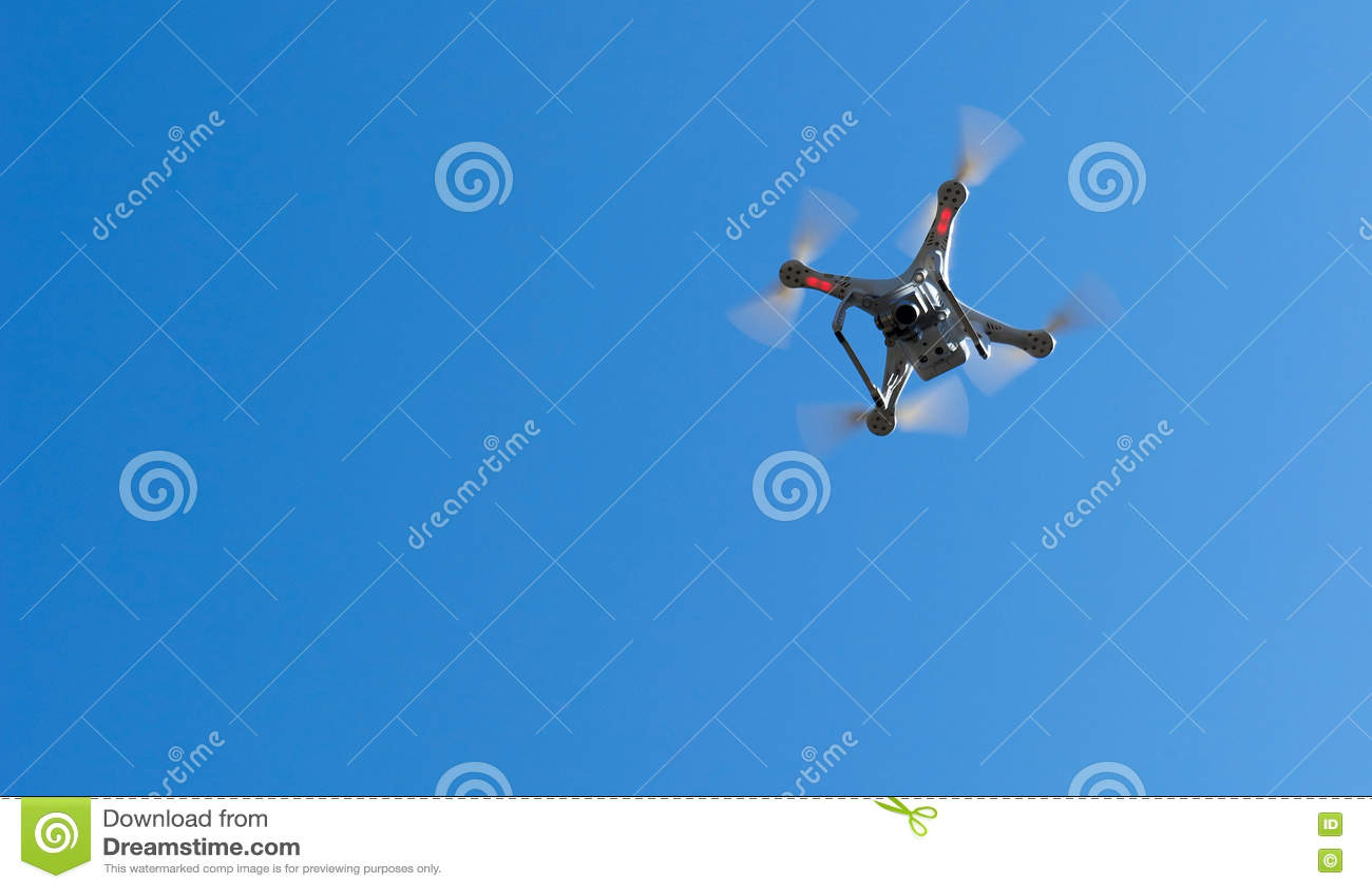 Quadcopter в небе
