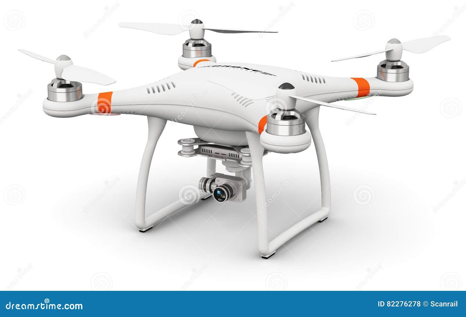 Quadcopterhommel met 4K video en fotocamera