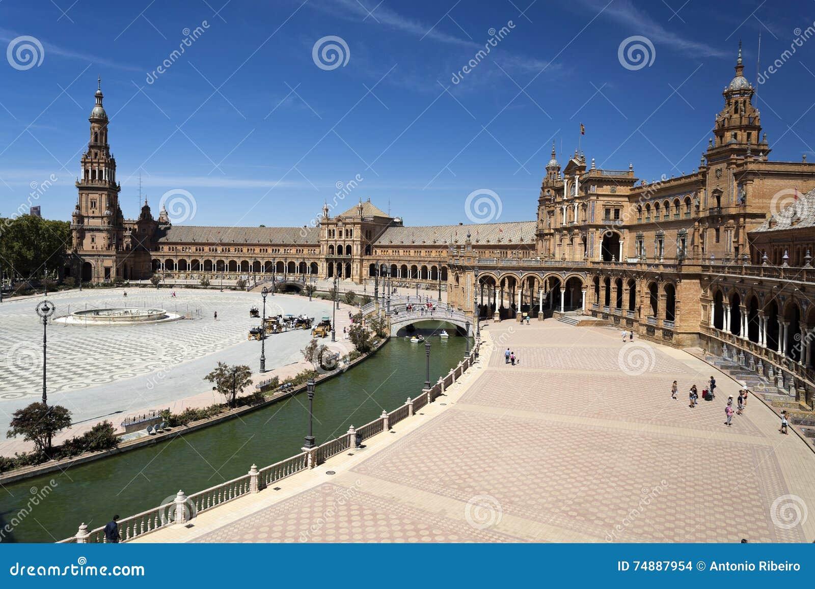 Quadrado da Espanha de Sevilha