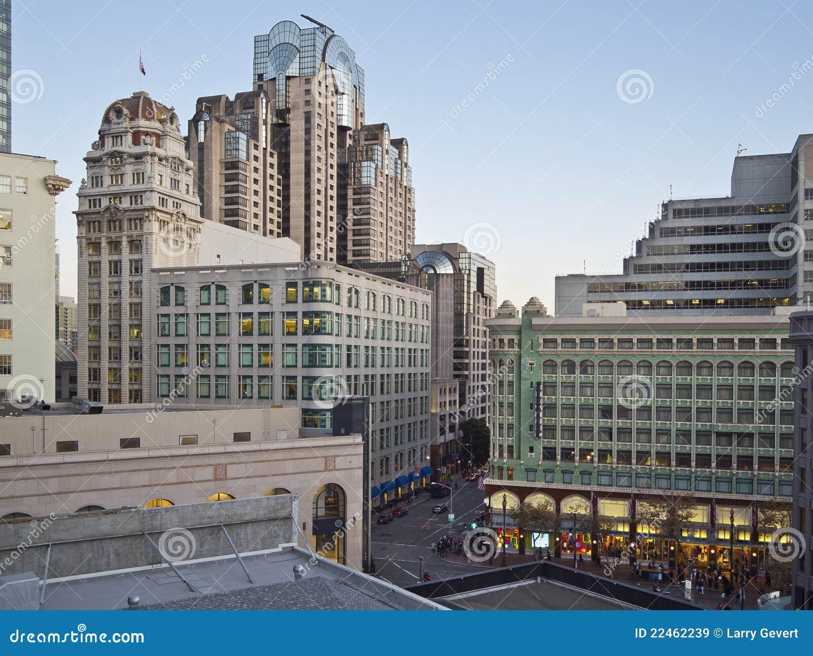 Quadrado da união, cena de San Francisco