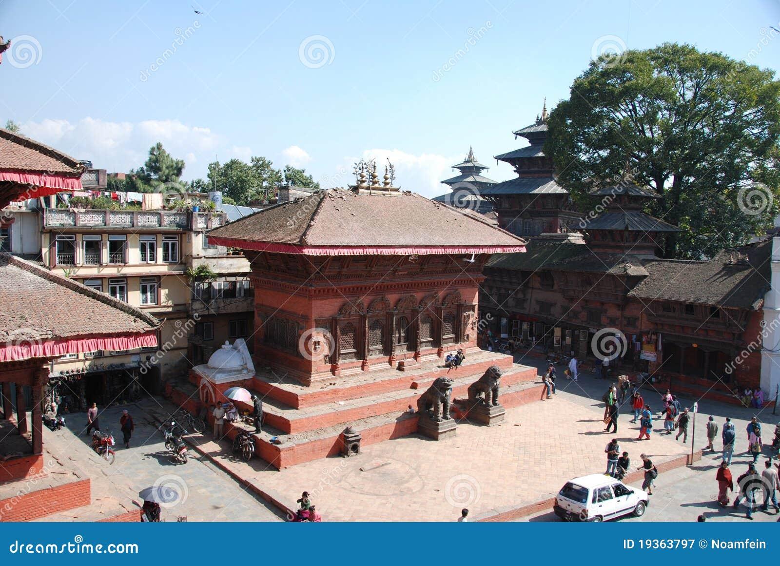Quadrado de Durbar em Kathmandu